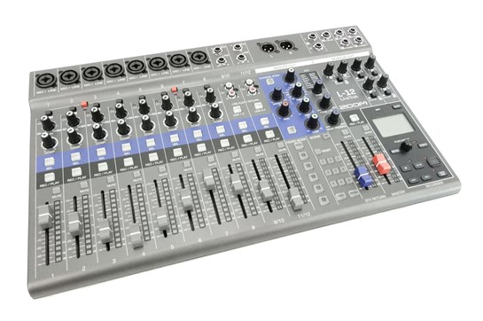Zoom LiveTrak L12 Digital Recording Mixer | Heid Music