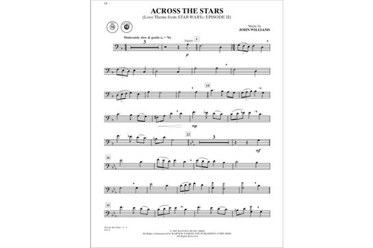 Star Wars Instrumental Solos (Trombone)   Heid Music