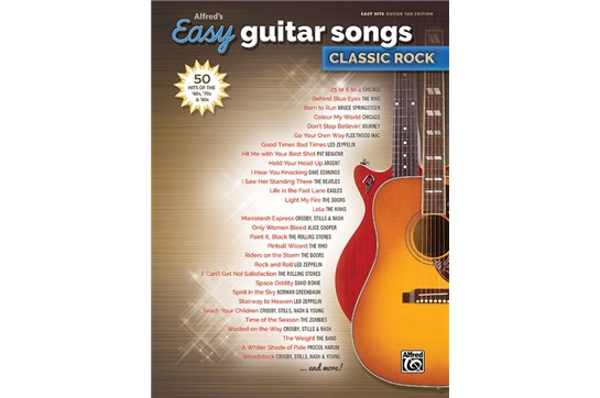 Easy Guitar Songs Classic Rock
