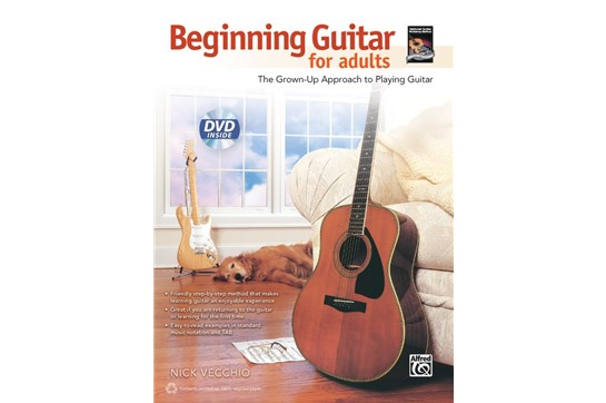 Beginning Guitar for Adults w/DVD