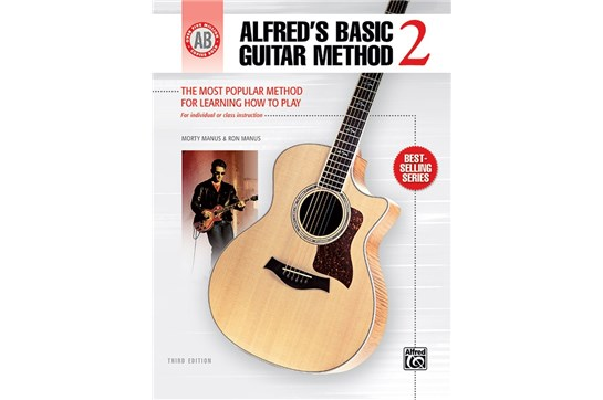 Alfred's Basic Guitar Method Book 2, Cover
