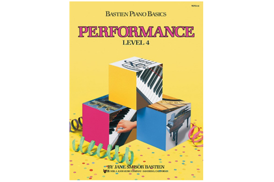 Bastien Piano Basics: Performance - Level 4