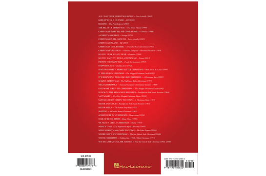 christmas movie songs retail price 1799 - Christmas Movie Songs