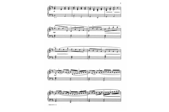 Canon in D Intermediate Piano | Heid Music
