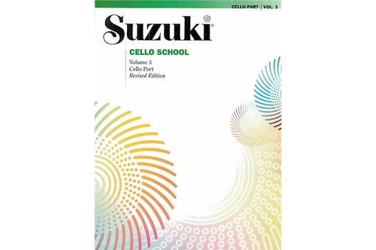 2311B9 C5, Cello School 3, Suzuki, AL