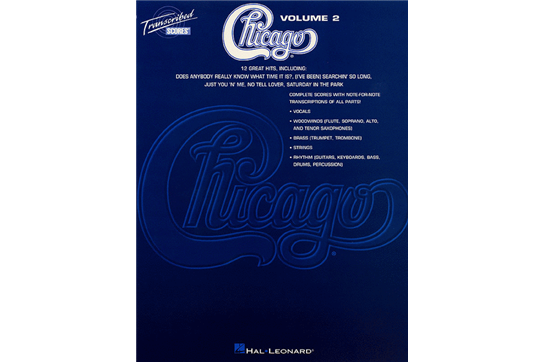 Chicago Transcribed Scores