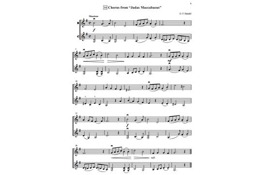 Chorus From Judas Maccabaeus Suzuki Book  Sheet Music