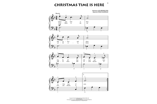 a charlie brown christmas beginning piano solo
