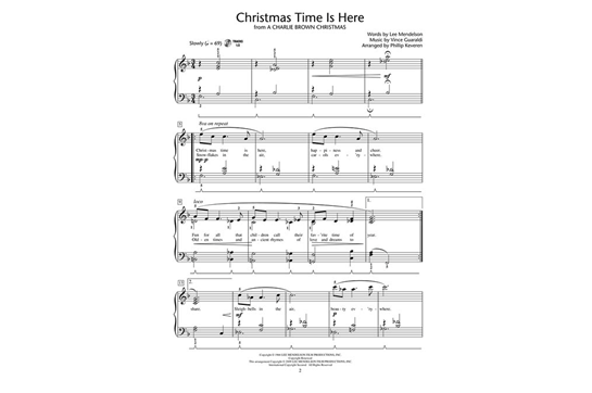 Christmas Time Is Here Piano.More Christmas Piano Solos Level 5 Heid Music