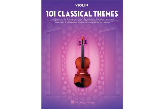 101 Classical Themes - Violin