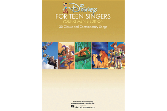 Disney for Teen Singers - Young Men's Edition