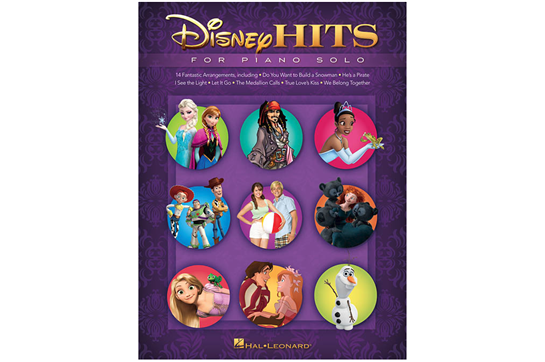 Disney Hits for Piano Solo