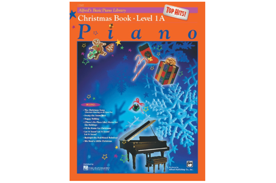 Top Hits Christmas Book 1A