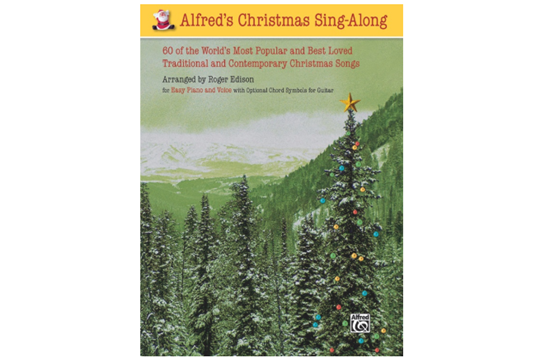 alfreds christmas sing along - Best Modern Christmas Songs