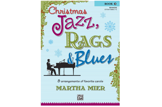 Christmas Jazz, Rags & Blues Book 2