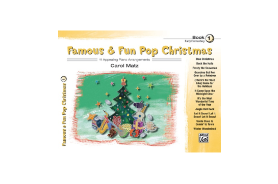 Famous & Fun Pop Christmas Book 1