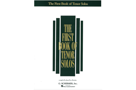 First Book of Tenor Solos