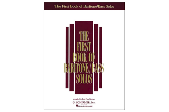 First Book of Baritone/Bass Solos
