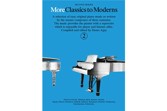 More Classics to Moderns - Book 2