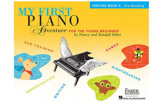 My First Piano Adventure - Writing Book