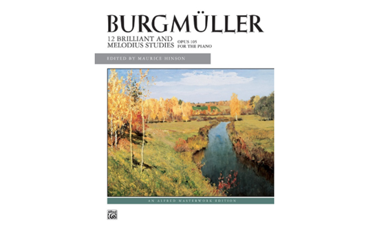 Burgmüller: 12 Brilliant Studies, Op. 105