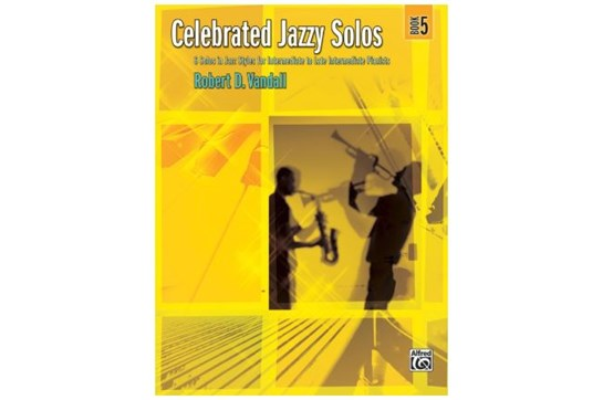 Celebrated Jazzy Solos, Book 5