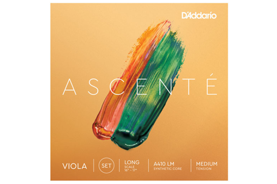 Ascenté Viola String Set, Long Scale, Medium Tension