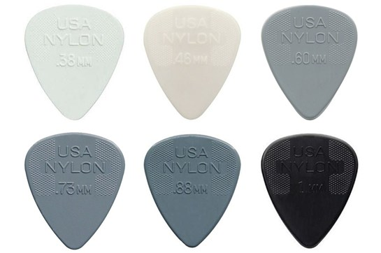 Dunlop Nylon Guitar Picks