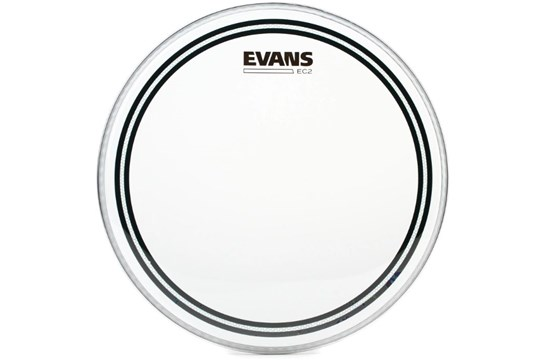 "Evans 12"" EC2 Clear Head"