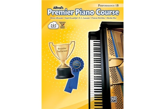 Alfred's Premier Piano Course 1B Performance
