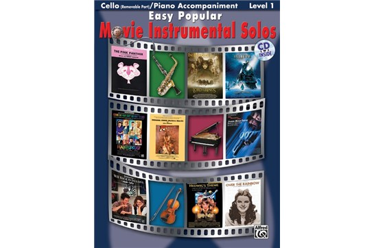Easy movies for cello