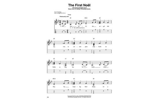Christmas Carols For Solo Ukulele Heid Music