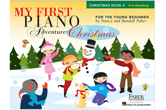 First Piano Adventures Christmas Book A