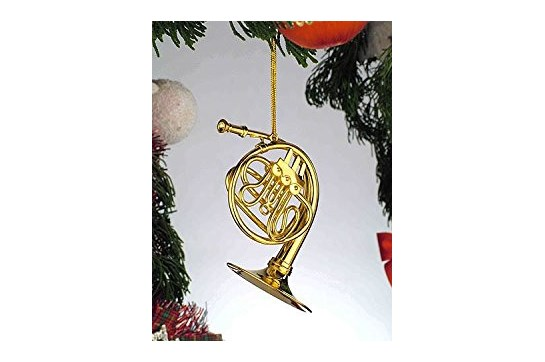 Gold French Horn