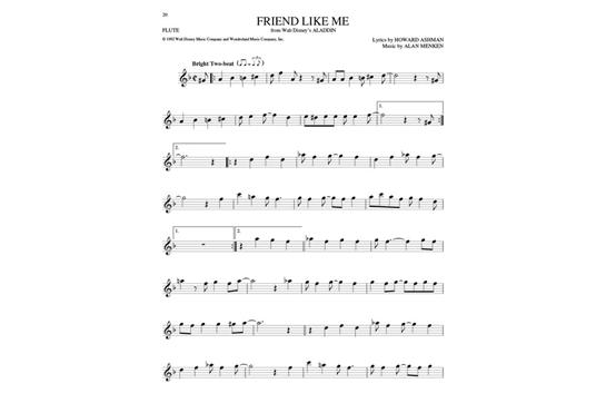 The Big Book Of Disney Songs Flute Hal Leonard Heid Music