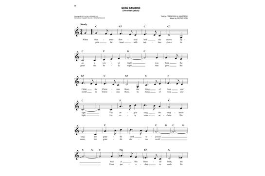 Easy Christmas Carols Fake Book Heid Music