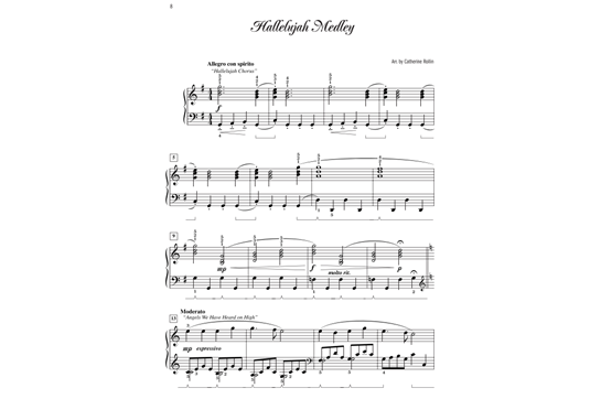 Christmas Hallelujah Sheet Music.Christmas Medleys And Variations Heid Music