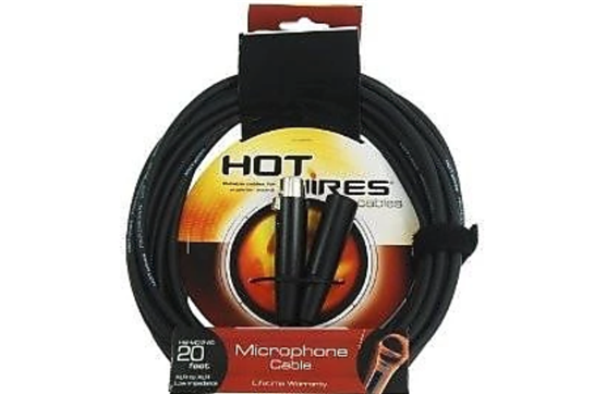 Hot Wires Microphone Cable 20""