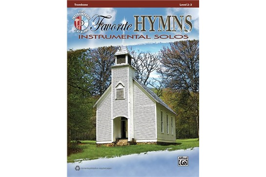 Favorite Hymns Instrumental Solos for Trombone
