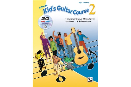Alfred's Kid's Guitar Course 2, Cover