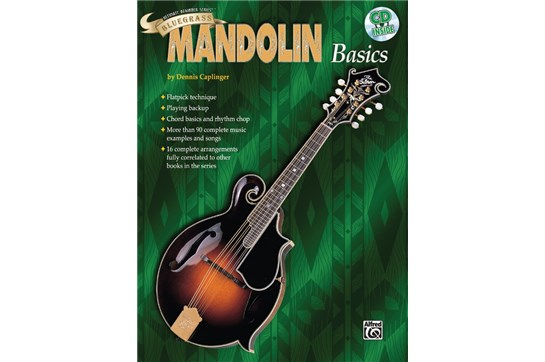 Bluegrass Mandolin Basics, Cover