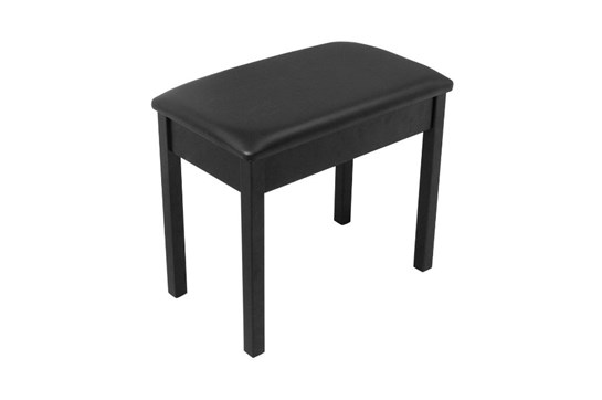 On-Stage Flip Top Black Piano Bench