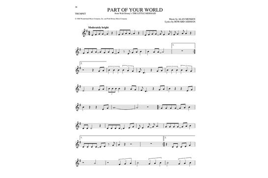 The Big Book of Disney Songs (Trumpet)   Hal Leonard   Heid