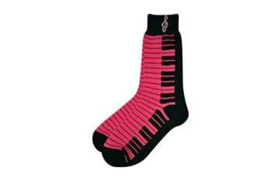 Ladies Pink Socks