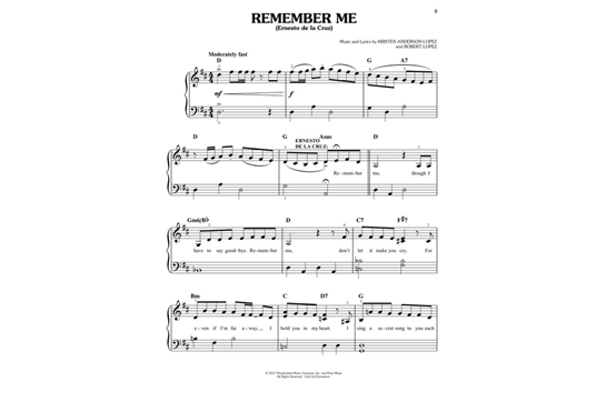 Disneypixar's Coco Easy Piano: Piano Music Sheets For Disney Movies At Alzheimers-prions.com