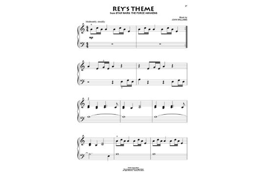 John Williams for Beginning Piano Solo | Heid Music