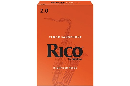box of rico tenor sax reeds strength 2 at heidmusic.com
