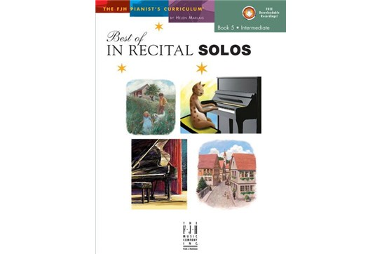 Best of In Recital Solos - Book 5