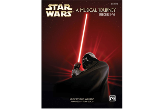 Star Wars: A Musical Journey Big Note Piano