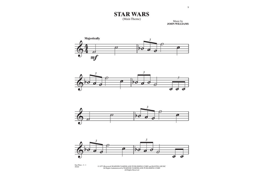 Selections from star wars for recorder hal leonard heid music retail price ccuart Gallery
